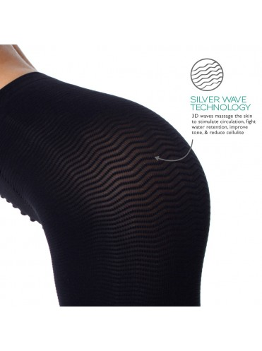 Solidea Silver Wave High Waist Short