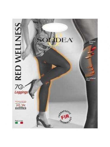 Solidea Red Wellness Leggins Class A (70 ден)